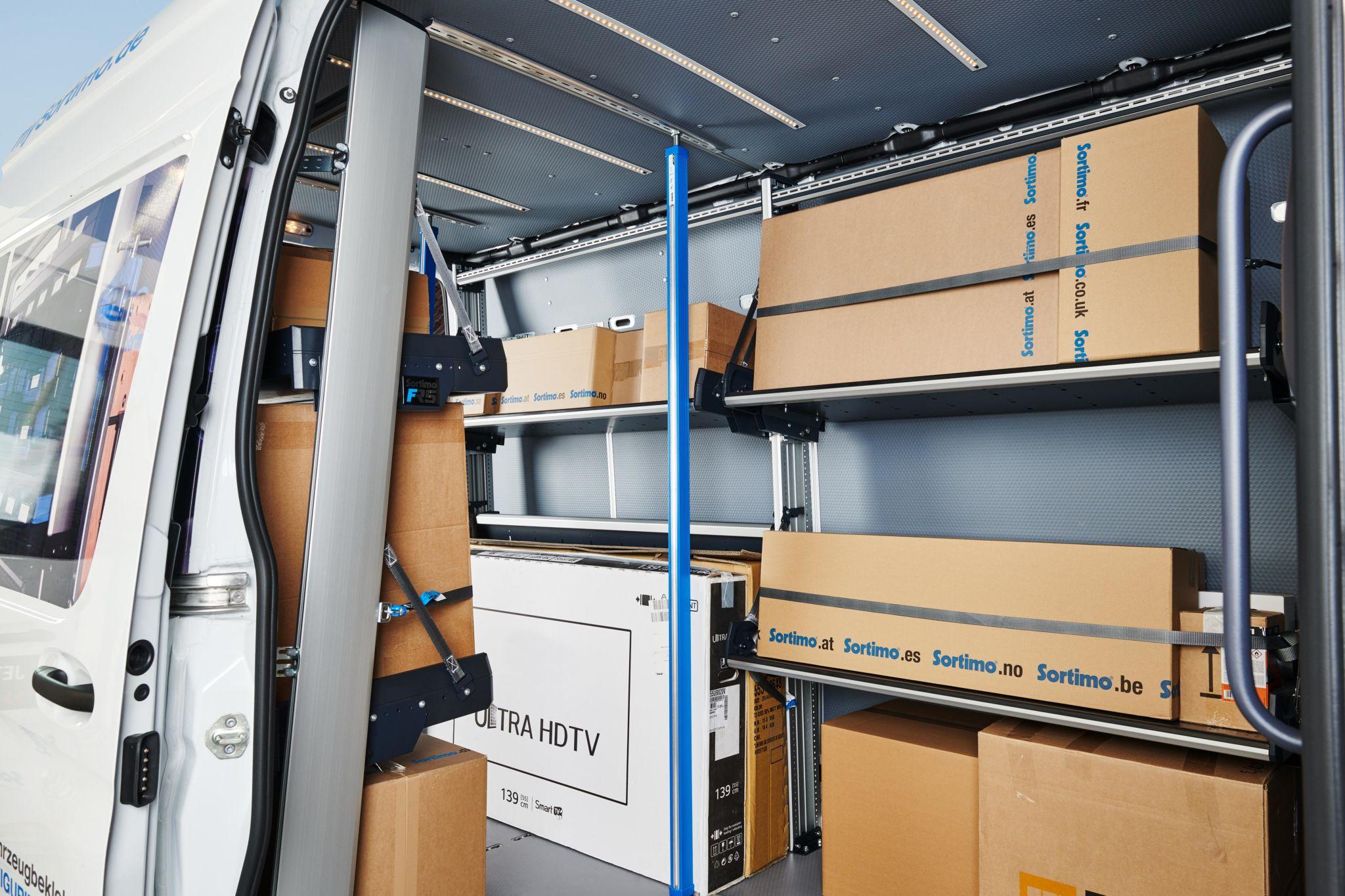 Sprinter FR5 pluspakketten kleinst Verbruggen Sortimo