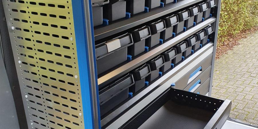 Schuiflades SR5 inrichting Verbruggen Sortimo