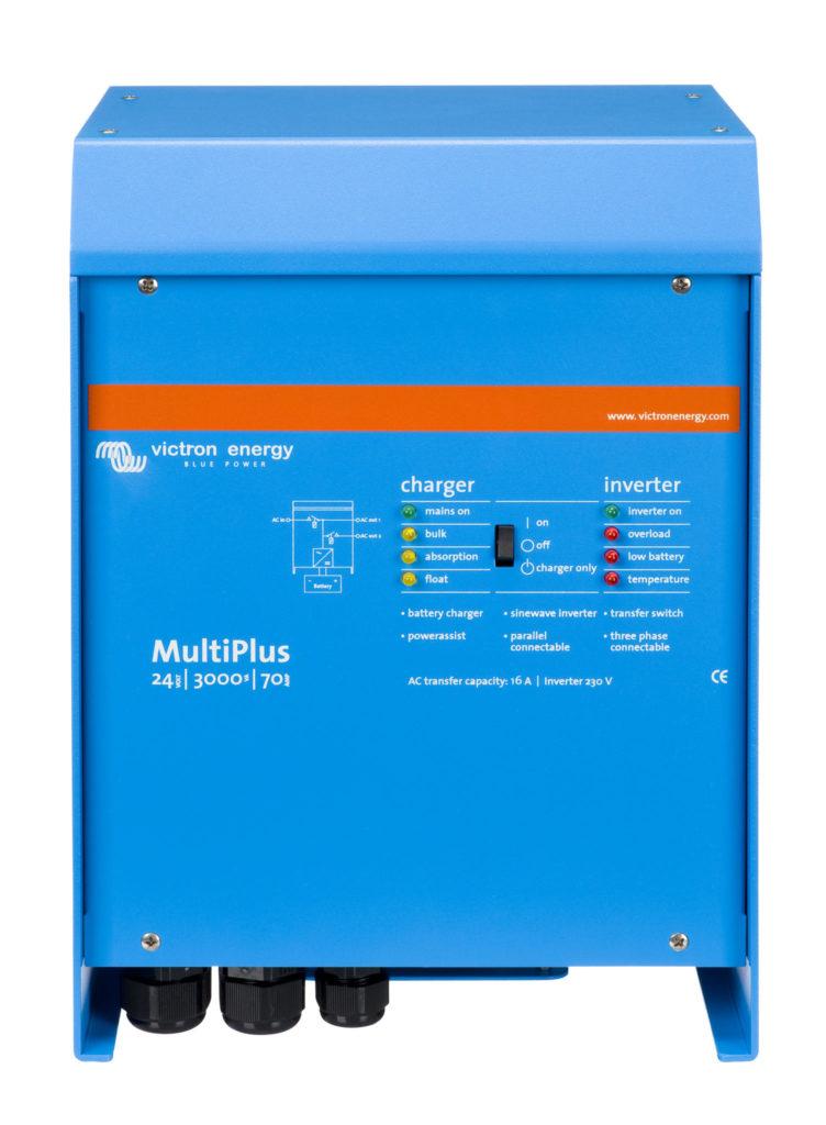 MultiPlus 24V 3000VA 70A 16A 230V Victron Verbruggen