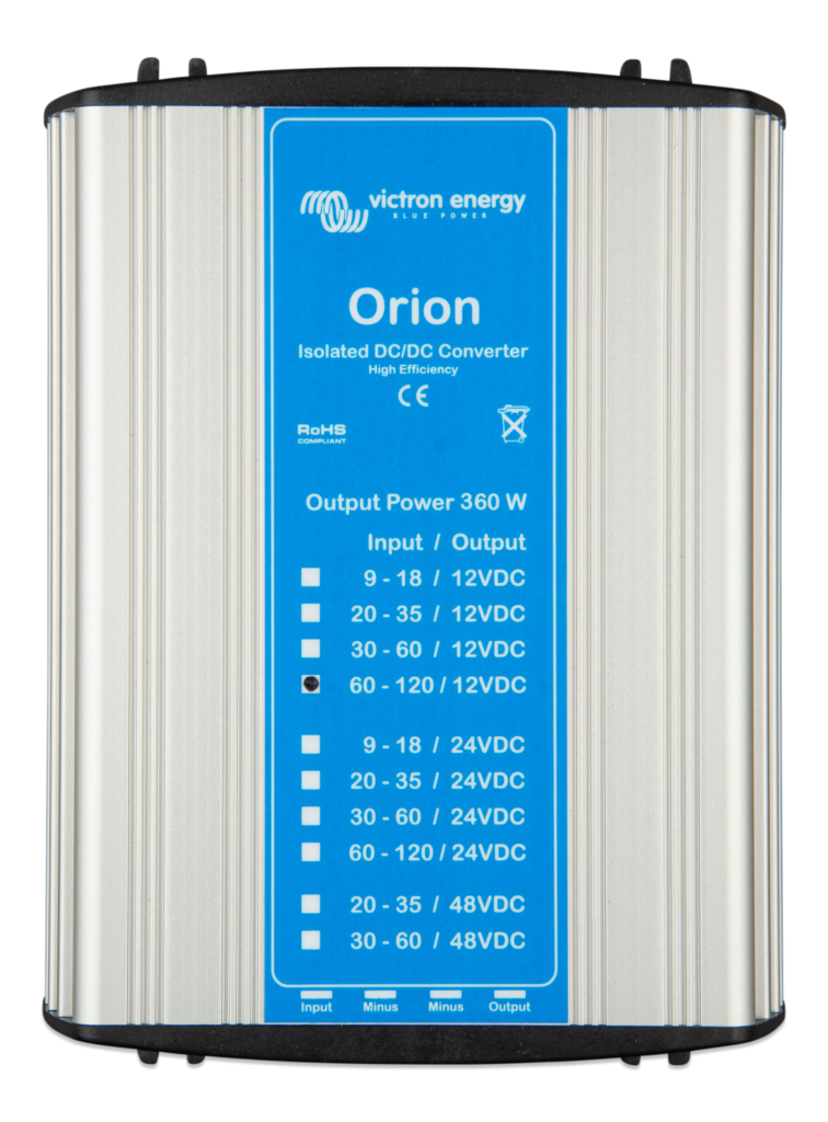 Orion-11012-30A-360W-Isolated-DC-DC-converter Victron Verbruggen