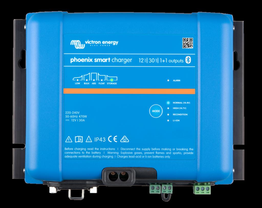 Phoenix-smart-charger-12V-30A-11-outputs Victron Verbruggen