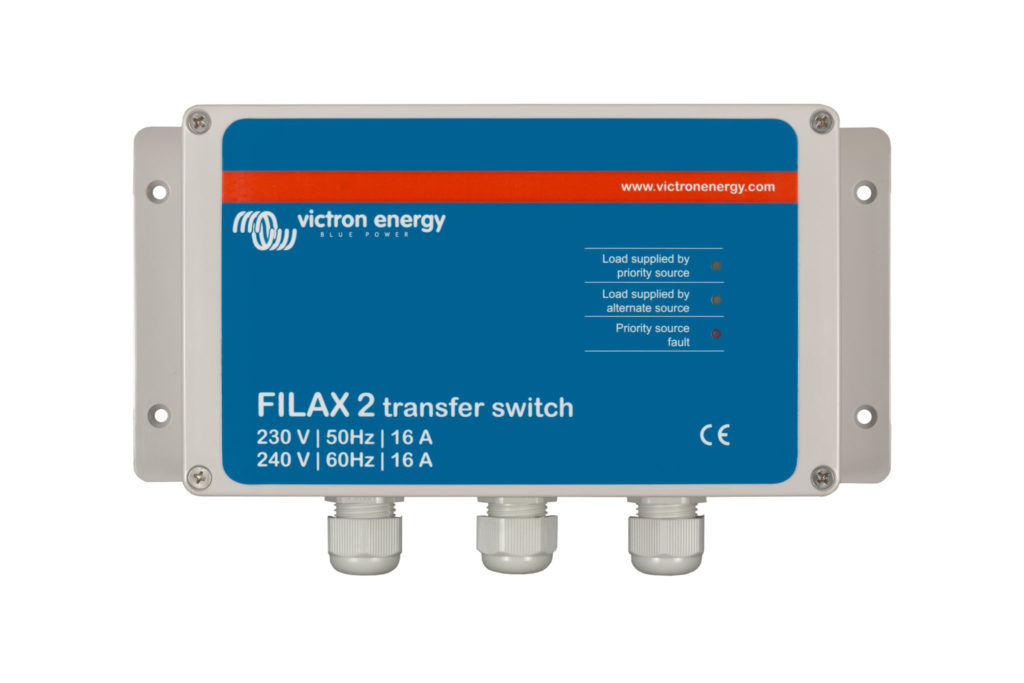 SDFI0000000 Filax 2 transfer switch Victron Verbruggen