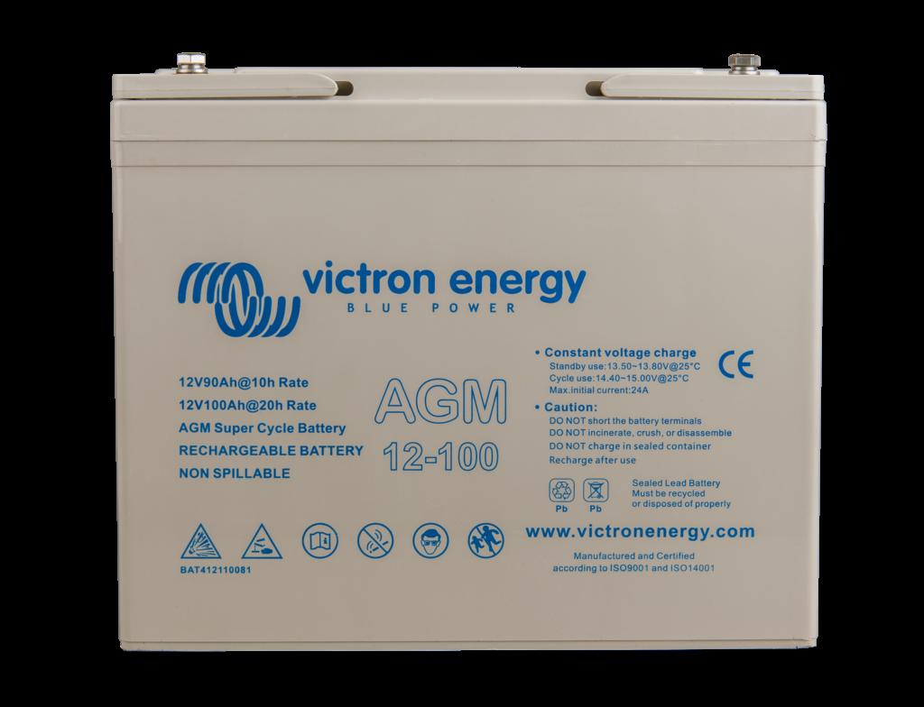 12V-100Ah-AGM-Super-Cycle-Battery Verbruggen Victron