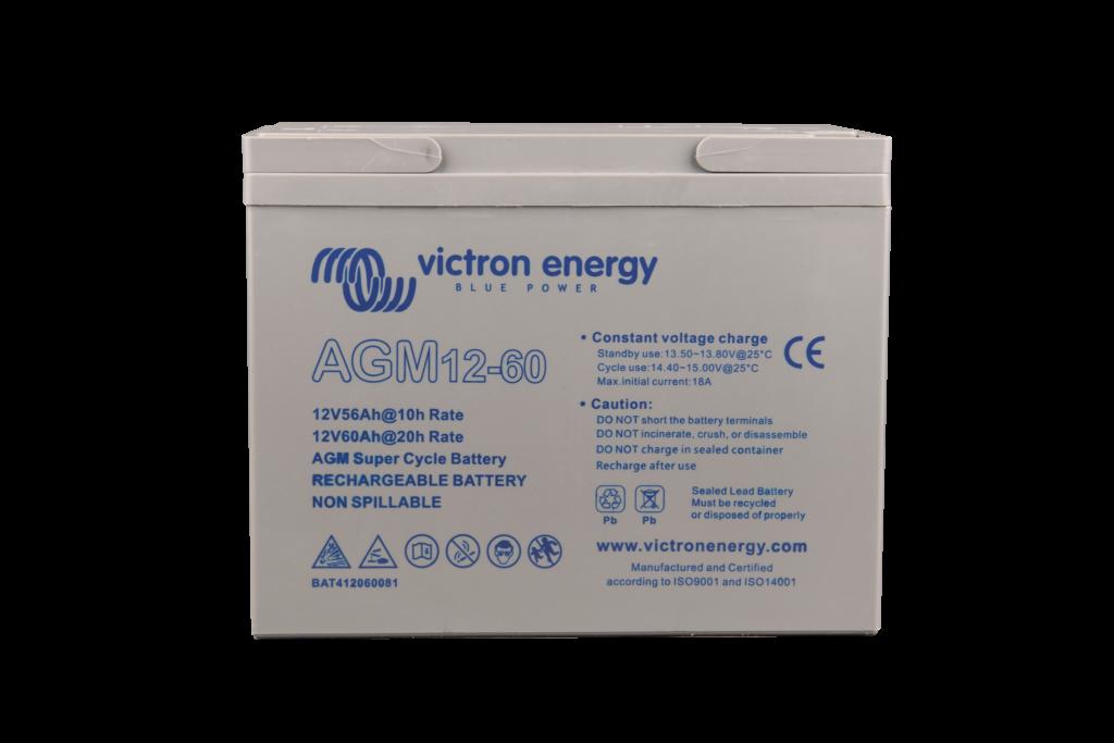12V-60Ah-AGM-Super-Cycle-Battery Victron Verbruggen