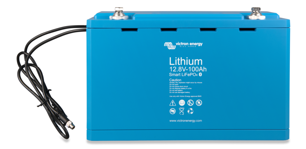 LiFePO4-Battery-12.8V-100Ah-Smart Victron Verbruggen